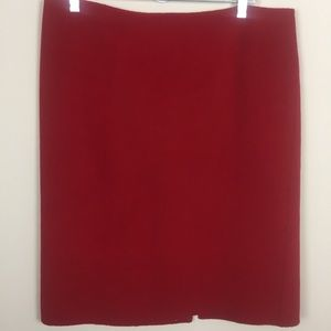 Women's Talbots Sz12 Wool Pencil Skirt